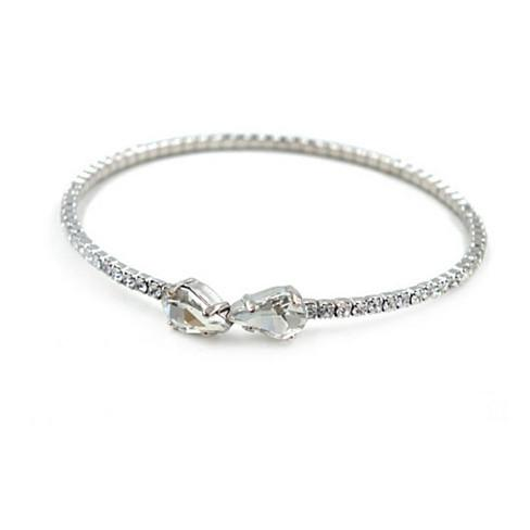 swarovski couple bracelet