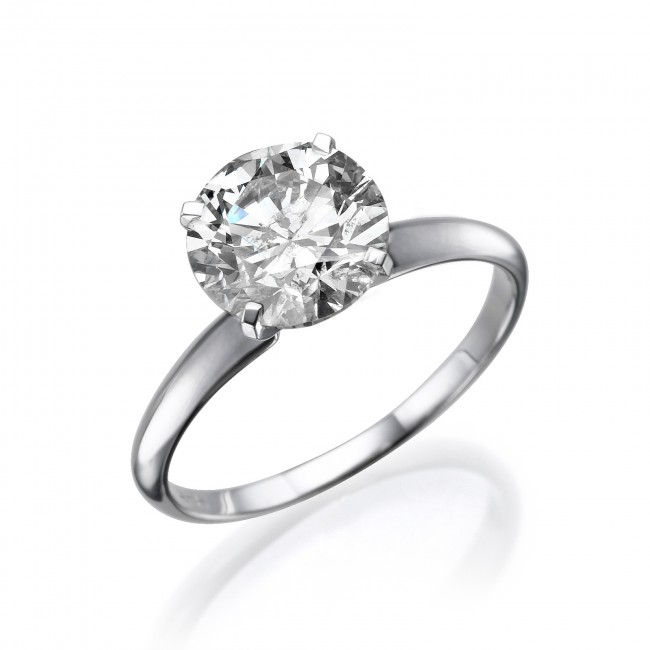 swarovski solitaire ring